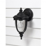 English Bridle Wall Light FE/EB2/S BLK