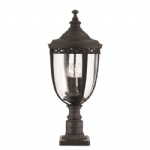 English Bridle Pedestal FE/EB3/L BLK