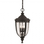 English Bridle Porch Lantern FE/EB8/L BLK
