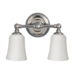 Huguenot Lake Double Wall Light FE/HUGOLAKE2 BATH