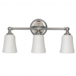 FE/HUGOLAKE3 BATH Huguenot Lake Triple Wall Light