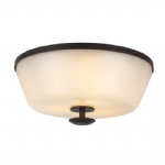 Huntley Bronze Flush Light FE/HUNTLEY/F