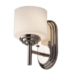 FE/MALIBU1 BATH Malibu Chrome Wall Light