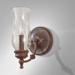 FE/PICKERINGL1 Heritage Bronze Wall Light