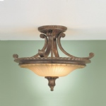 Semi Flush Ceiling Light FE/STIRLINGCASSF