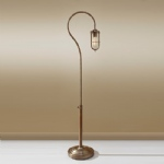 FE/URBANRWL/FL1 Dark Antique Brass Floor Lamp