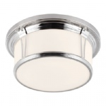 Woodward Large Flush Bathroom Ceiling Light FE/WOODWARD/F/L