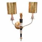 Flambeau 2 Arm Wall Light SC1027 2