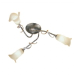 Fly Semi Flush Light Silver/Gold FLY3/SF BRZ/ANT