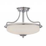 Griffin Small Semi Flush Light