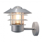 Outdoor Wall Light Silver HELSINGOR