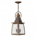 Outdoor Hanging Lantern HK/MONTAUK CHAIN