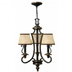 Triple Multi Arm Ceiling Pendant HK/PLYMOUTH3