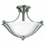 Semi Flush Light Nickel HK/BOLLA/SF