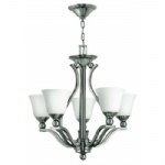 HK/BOLLA5 5 Light Multi Arm Ceiling Light