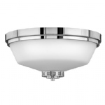 Ashley Flush Chrome Ceiling Light HK/ASHLEY/F BATH