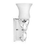 Brooke Chrome Wall Light HK/BROOKE1 BATH