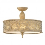 Carabel Large Triple Semi-Flush Light HK/CARABEL/SF/L