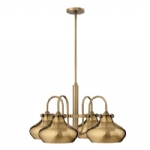 Congress 4 Light Multi-Arm Pendant HK/CONGRES4/C BC