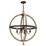 Middlefield 4 Light Multi-Arm Pendant HK/MIDDLEFIELDP4