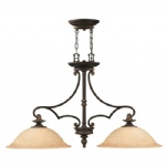 HK/PLYMOUTH/ISLE Plymouth Double Pendant Light
