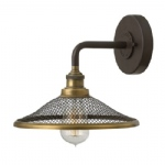 Rigby Bronze Wall Light HK/RIGBY1 KZ