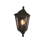 Kerry Black Outdoor Wall Light KERRY FLUSH