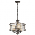 Ahrendale Duo-Mount Ceiling Light KL/AHRENDALE3