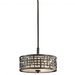 KL/LOOM/P/B Loom Duo-Mount Pendant Light