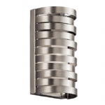 Roswell Brushed Nickel Wall Light KL/ROSWELL1