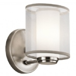 Saldana Pewter Wall Light KL/SALDANA1