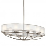 Saldana Pewter Ceiling 8 Light KL/SALDANA8