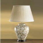 Table Lamp LUI/LEAVES BR/GL + LS1037