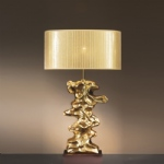 Libero Single Table Lamp LUI/LIBERO Gold LS1110