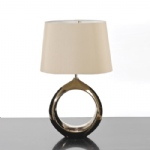 Bronze Finish Table Lamp LUI/OSCAR BZ LS1123