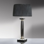 Crystal Table Lamp LUI/SIMONA NERO LS1024