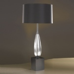 Solomon Table Lamp LUI/SOLOMON SILV LS1002