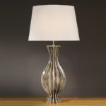 Tall Ceramic Table Lamp LUI/TALL RIB VAS LS1108