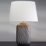 Grey Table Lamp LUI/MUSE GREY + LUI/LS1124
