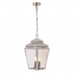 Outdoor Lantern Nickel MansionHS8 PN