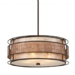 4 Light Copper Pendant QZ/LAGUNA/P