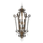6 Light Pendant QZ/MARQUETTE6/B