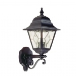 Norfolk Outdoor Black Wall Light NR1 BLK