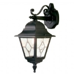Norfolk Outdoor Wall Light NR2 BLK