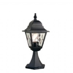 Norfolk Outdoor Post Light NR3 BLK