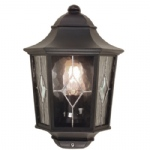 Norfolk Black Outdoor Lantern NR7/2 BLK