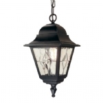 Norfolk Outdoor Hanging Lantern NR9 BLK