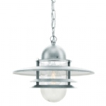 OS8 GAL Clear Lens Galvanised Oslo Lantern