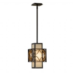 Remy Single Bronze Pendant FE/REMY/P/C