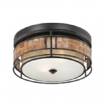 Laguna Small Double Flush Ceiling Light QZ/LAGUNA/F/S